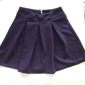 The limited Plum skater skirt 4